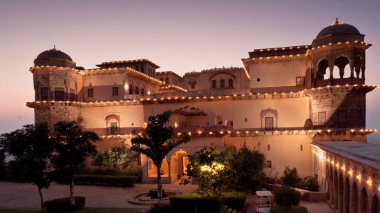 Facade_Tijara Fort Palace_Hotel In Rajasthan 15