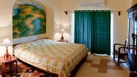Tijara Fort-Palace - 19th Century_ Alwar Alwar Paramjit Mahal Facade_Tijara Fort Palace_Hotel In Rajasthan