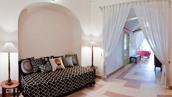 Tijara Fort-Palace - 19th Century_ Alwar Alwar Rasa Mahal Facade_Tijara Fort Palace_Hotel In Rajasthan 1