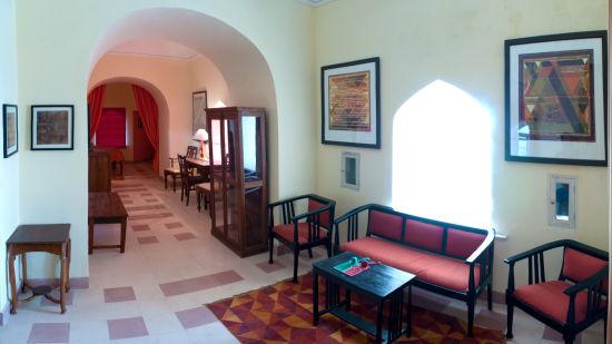 Tijara Fort-Palace - 19th Century_ Alwar Alwar Raza-Manish Mahal Facade_Tijara Fort Palace_Hotel In Rajasthan