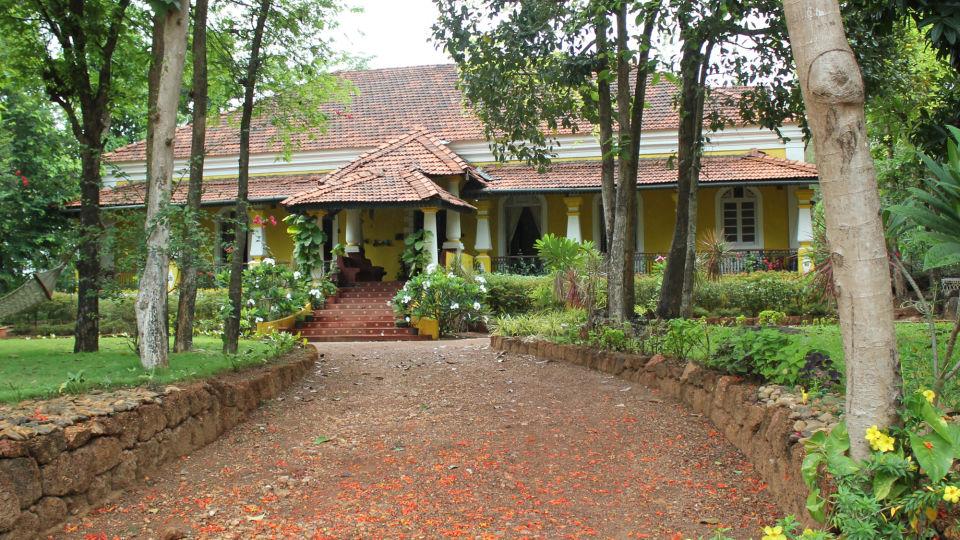 Arco Iris - 19th Century, Curtorim Goa Main Facade Arco Iris Goa 9
