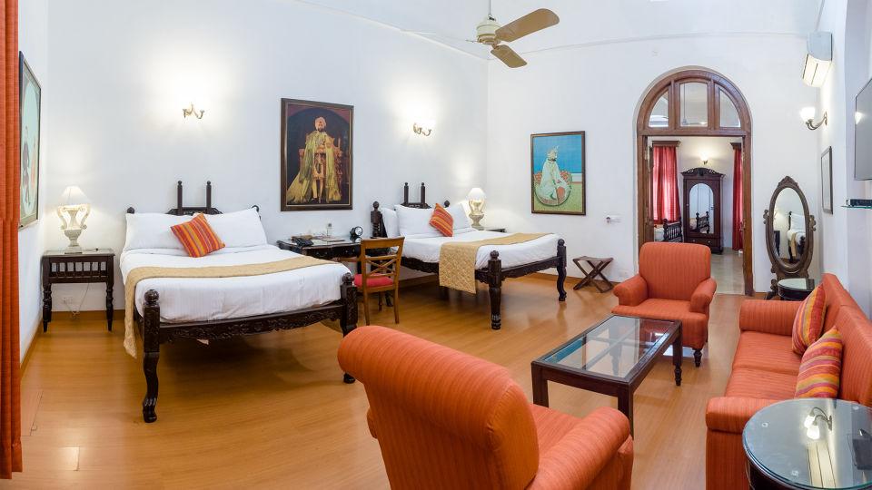 Maharaja Rajinder Singh The Baradari Palace Hotel in Patiala