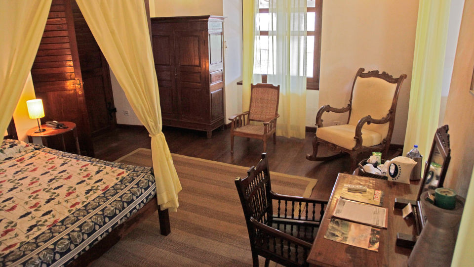Countess Moltke Room, The Bungalow on the Beach Tranquebar, Hotel Rooms In Tamil Nadu 1