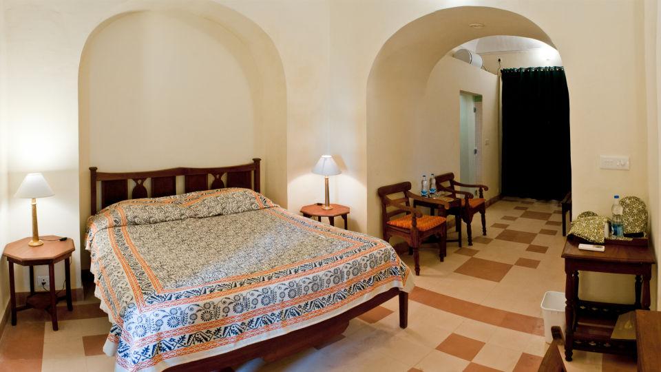 Tijara Fort-Palace - 19th Century_ Alwar Alwar David Mahal Facade_Tijara Fort Palace_Hotel In Rajasthan