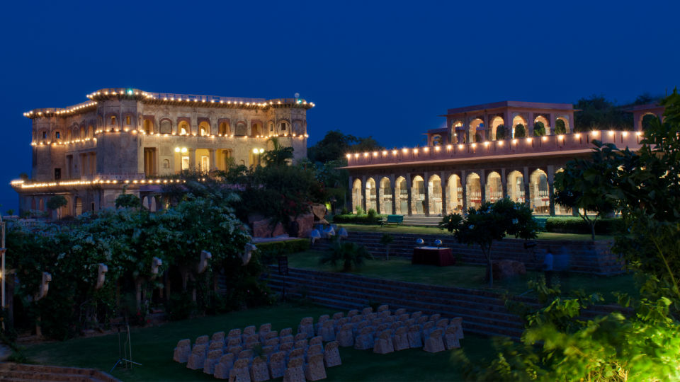 Facade_Tijara Fort Palace_Hotel In Rajasthan 10