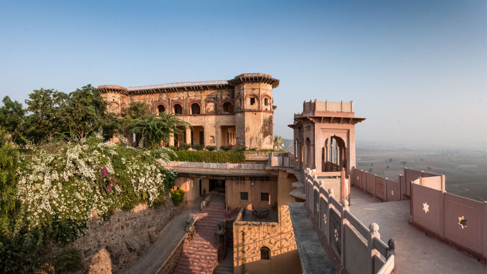 Facade_Tijara Fort Palace_Hotel In Rajasthan 11