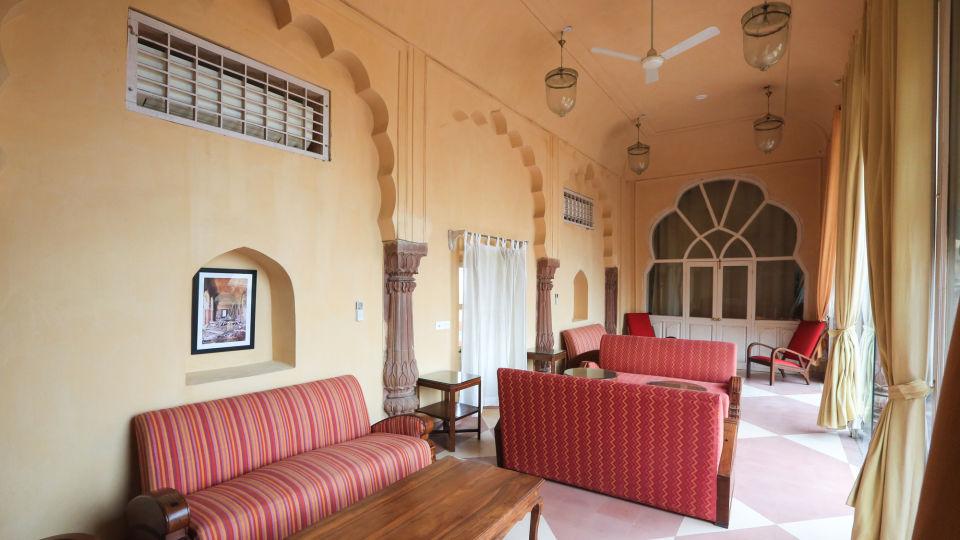 Facade_Tijara Fort Palace_Hotel In Rajasthan 19