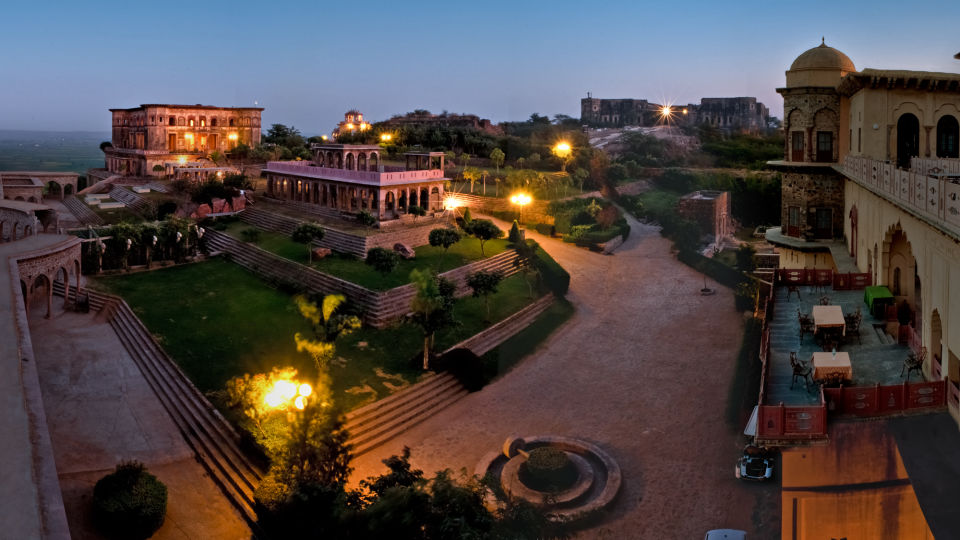 Facade_Tijara Fort Palace_Hotel In Rajasthan 3