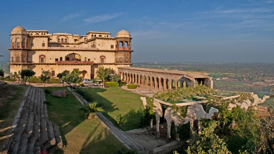 Facade_Tijara Fort Palace_Hotel In Rajasthan 5