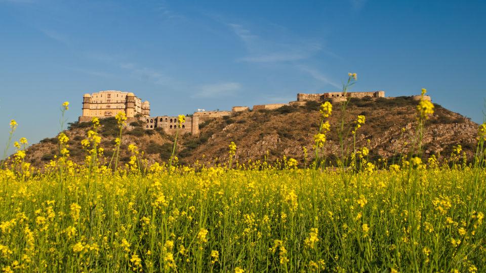 Facade_Tijara Fort Palace_Hotel In Rajasthan 6
