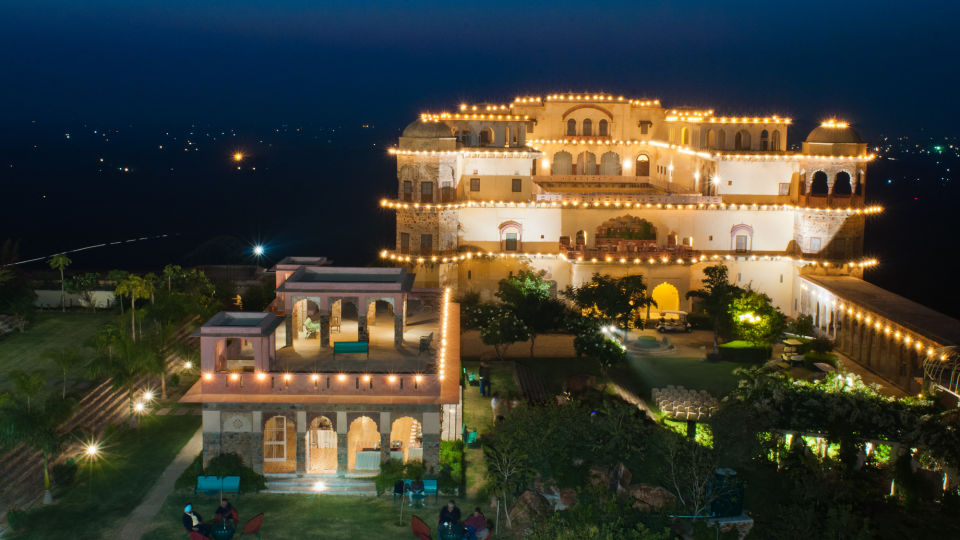 Facade_Tijara Fort Palace_Hotel In Rajasthan 9
