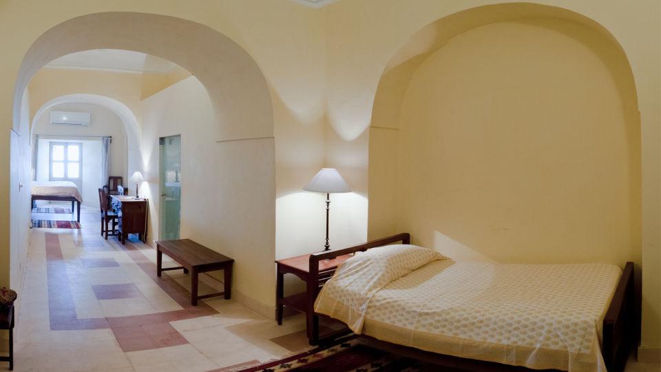 Tijara Fort-Palace - 19th Century_ Alwar Alwar John Mahal Facade_Tijara Fort Palace_Hotel In Rajasthan 1