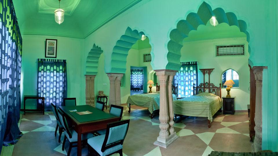 Tijara Fort-Palace - 19th Century_ Alwar Alwar Laila Mahal Facade_Tijara Fort Palace_Hotel In Rajasthan