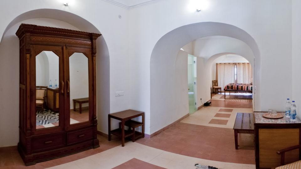 Tijara Fort-Palace - 19th Century_ Alwar Alwar Neeraj Mahal Facade_Tijara Fort Palace_Hotel In Rajasthan
