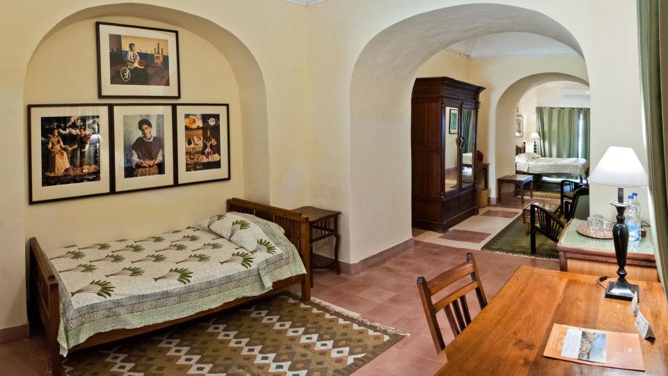 Tijara Fort-Palace - 19th Century_ Alwar Alwar Rohit Mahal Facade_Tijara Fort Palace_Hotel In Rajasthan