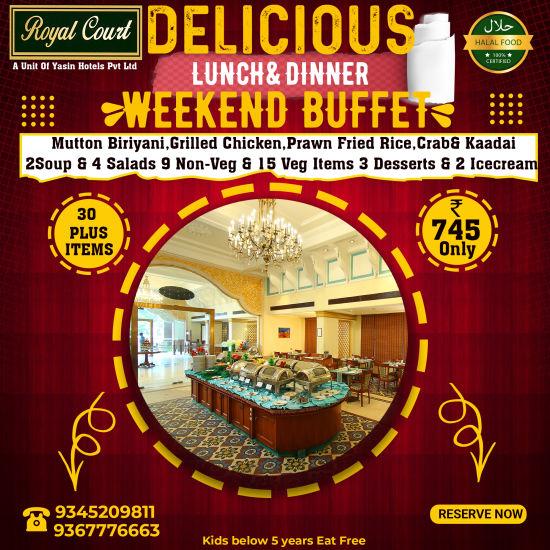 Weekend Buffet Model1