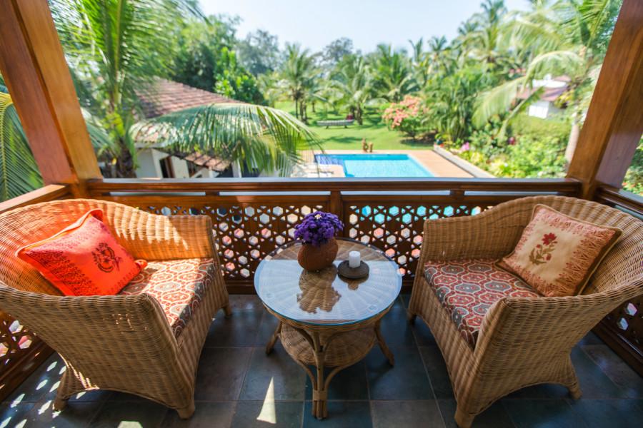 alt-text Room 13, Hamsa Villas Goa, Best Resort In Goa