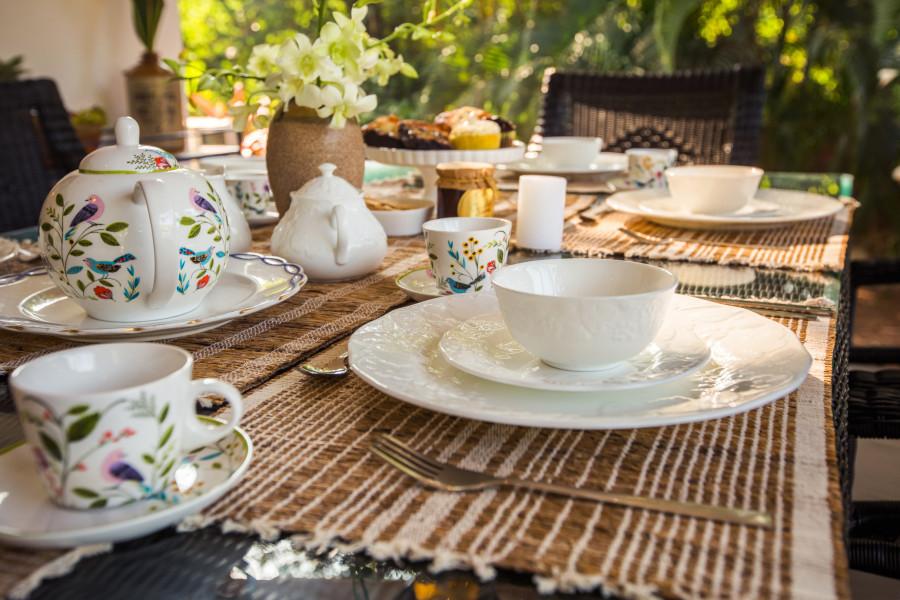 alt-text Breakfast in Rooms , Hamsa Villas Goa, Best Resort In Goa