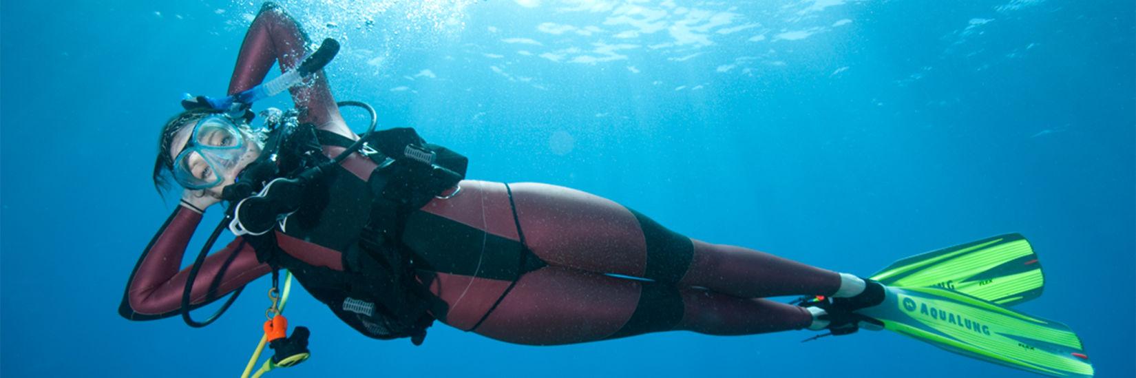 Master Scuba Diver hero