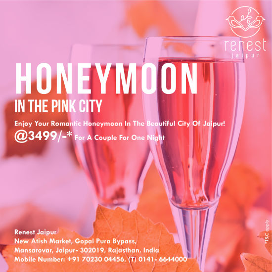 Honeymoon package jaipur