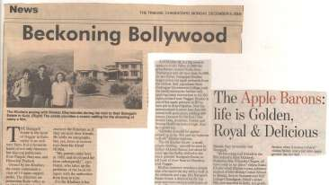 Baragarh Villa Kullu Baragarh Heritage Villa Newspaper article8