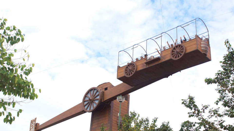 Dry Rides - Lazy Wagon at  Wonderla Amusement Park Bangalore