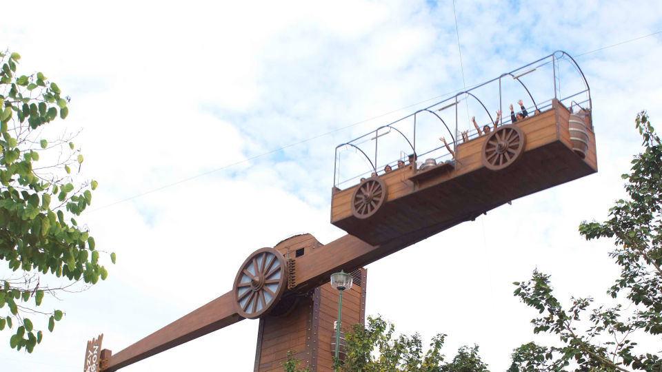 Dry Rides - Lazy Wagon at  Wonderla Amusement Park Bengaluru