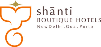 Shanti Boutique Hotels  Logo Shanti Boutique Hotels - New delhi goa porto