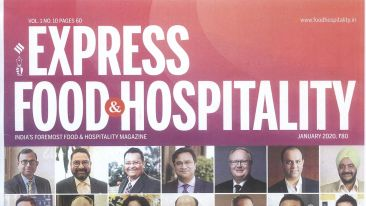 Pride Hotels Express Food and Hospitality January 2020 Cover Page.