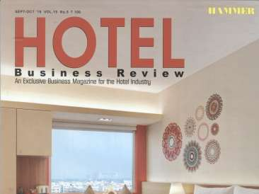 Oriental Spice Pride Hotel Hotel Business Review Sep-Oct 2019 Cover Page.