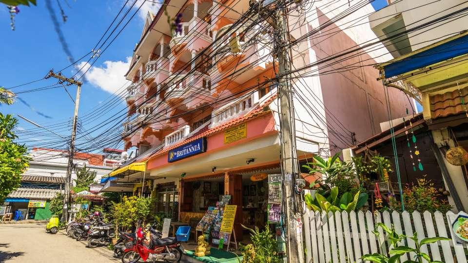 Hotel The Britannia, Chiang Mai Chiang Mai Facade Hotel The Britannia Chiang Mai