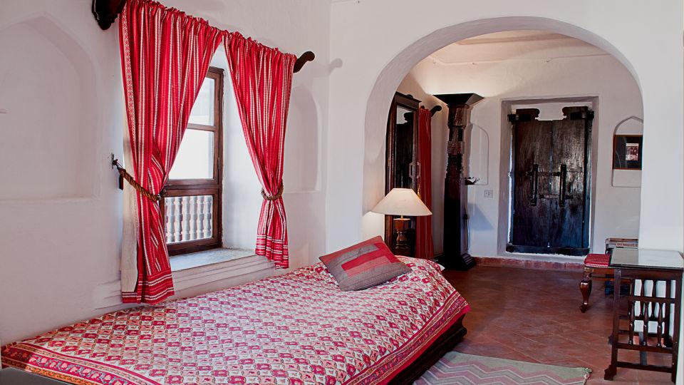 Neemrana Fort-Palace - 15th Century, Delhi-Jaipur Highway Neemrana Barsat Mahal Neemrana Fort-Palace Alwar Rajasthan