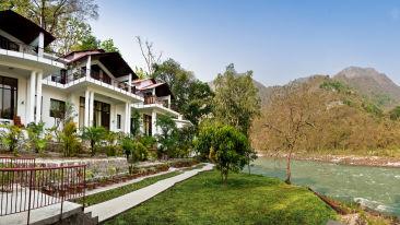 Neemrana hotels, The Glasshouse on the Ganges in Rishikesh Uttarakhand, hotels in rishikesh