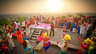 Wedding, Neemrana Fort-Palace, Events near Delhi  2