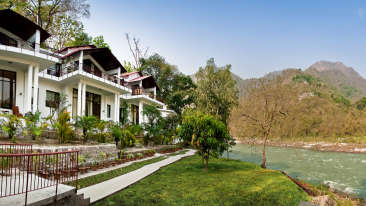 The Glasshouse on The Ganges - 21st Century, Rishikesh Rishikesh The Glasshouse on the Ganges above Rishikesh Uttarakhand