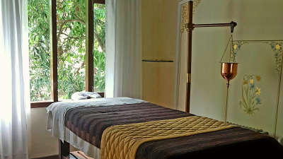 Amrit Kashi-Spa The Glasshouse on the Ganges hotel above Rishikesh Uttarakhand 2