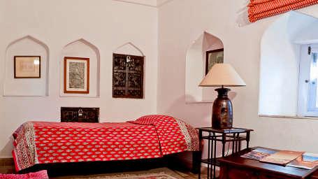 Neemrana Fort-Palace - 15th Century, Delhi-Jaipur Highway Neemrana Gopi Mahal Neemrana Fort-Palace Alwar Rajasthan