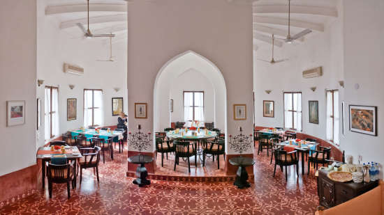 Neemrana Fort-Palace - 15th Century, Delhi-Jaipur Highway Neemrana Dining Neemrana Fort-Palace Alwar Rajasthan