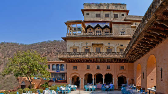Neemrana Fort-Palace - 15th Century, Delhi-Jaipur Highway Neemrana Wing III Neemrana Fort-Palace Alwar Rajasthan