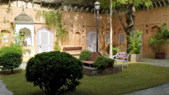 Neemrana Fort-Palace - 15th Century, Delhi-Jaipur Highway Neemrana Wing IV Neemrana Fort-Palace Alwar Rajasthan