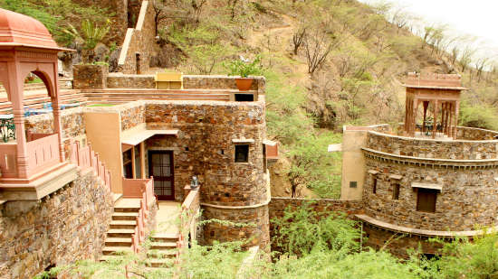 Neemrana Fort-Palace - 15th Century, Delhi-Jaipur Highway Neemrana Wing VI Neemrana Fort-Palace Alwar Rajasthan