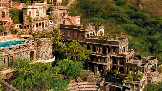 Neemrana Fort-Palace - 15th Century, Delhi-Jaipur Highway Neemrana Wing V Neemrana Fort-Palace Alwar Rajasthan