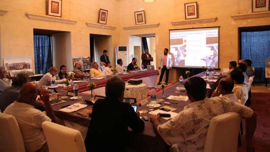 Conference at Neemrana Tijara Fort-Palace Hotel and Resort Alwar Rajasthan - Resort Near Delhi