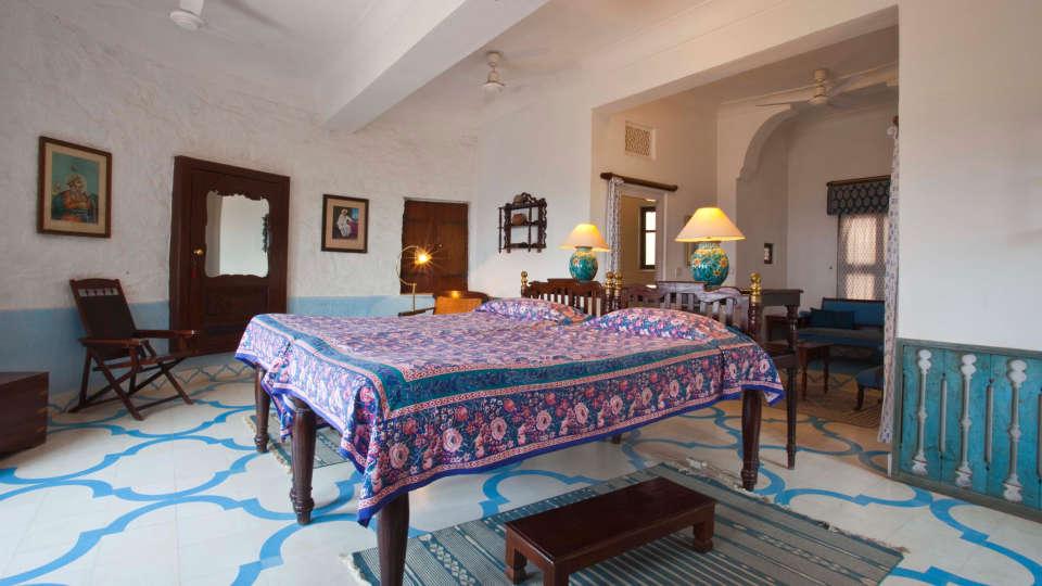 Neemrana Fort-Palace - 15th Century, Delhi-Jaipur Highway Neemrana Ambar Burj Neemrana Fort-Palace Alwar Rajasthan