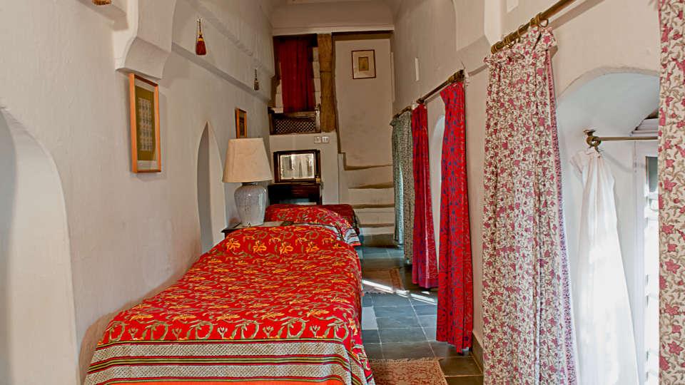 Neemrana Fort-Palace - 15th Century, Delhi-Jaipur Highway Neemrana Baag Mahal Neemrana Fort-Palace Alwar Rajasthan