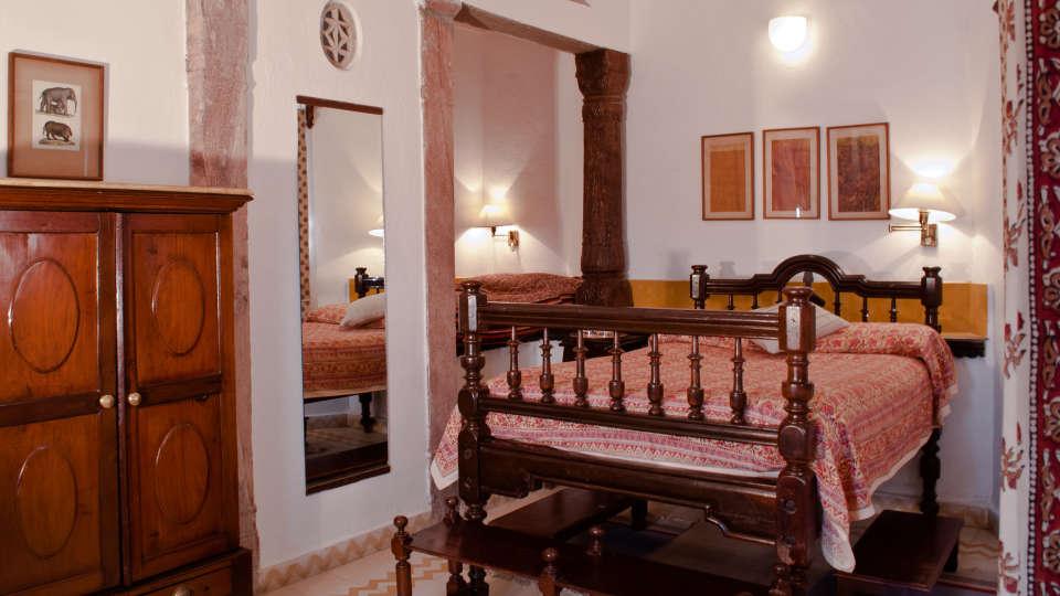 Neemrana Fort-Palace - 15th Century, Delhi-Jaipur Highway Neemrana Chandan Mahal Neemrana Fort-Palace Alwar Rajasthan