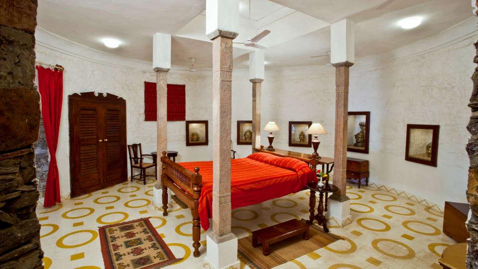 Neemrana Fort-Palace - 15th Century, Delhi-Jaipur Highway Neemrana Deva Mahal Neemrana Fort-Palace Alwar Rajasthan