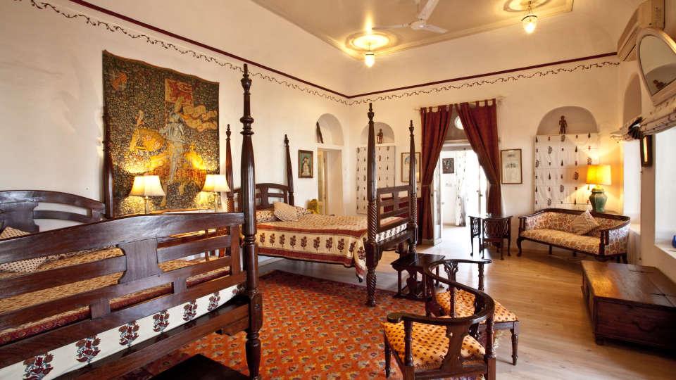 Neemrana Fort-Palace - 15th Century, Delhi-Jaipur Highway Neemrana Francisi Mahal Neemrana Fort-Palace Alwar Rajasthan