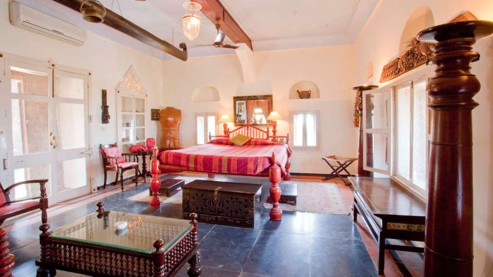 Neemrana Fort-Palace - 15th Century, Delhi-Jaipur Highway Neemrana Malabar Mahal Neemrana Fort-Palace Alwar Rajasthan
