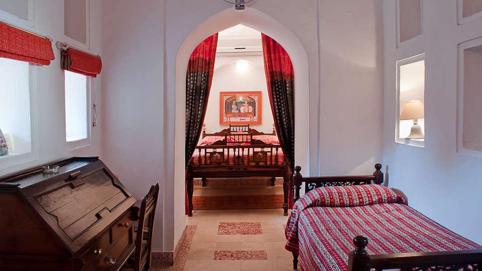 Neemrana Fort-Palace - 15th Century, Delhi-Jaipur Highway Neemrana Moonga Mahal Neemrana Fort-Palace Alwar Rajasthan